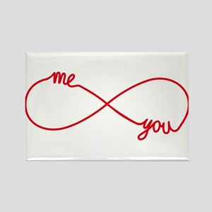 You and me together forever Magnets