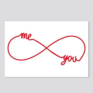 You and me together forever Postcards (Package of