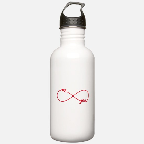 You and me together forever Water Bottle