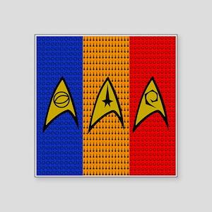 Star Trek Stripes Sticker