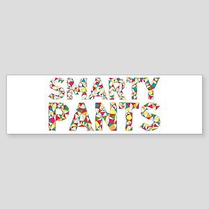 Smarty Pants Geometric Bumper Sticker
