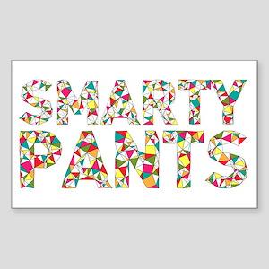 Smarty Pants Geometric Sticker