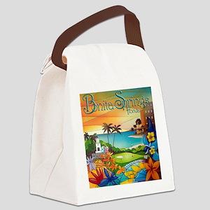 #6 Cuban Artist Alex Nunez Canvas Lunch Bag