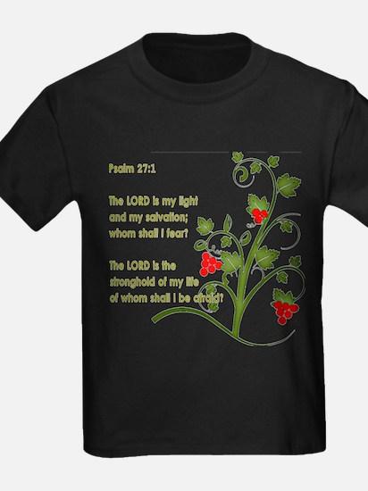 Psalm 27:1 T-Shirt