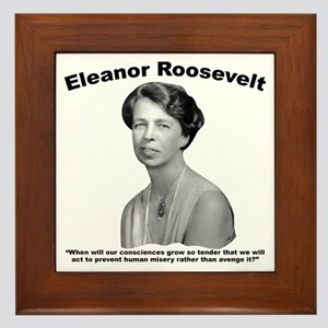 Eleanor: Conscience Framed Tile