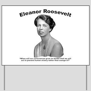 Eleanor: Conscience Yard Sign