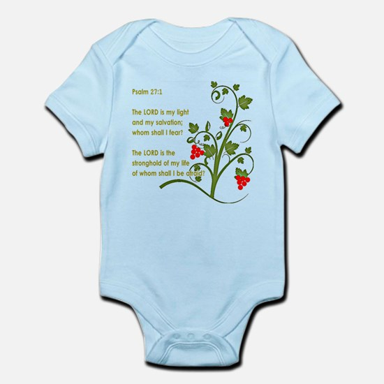 Psalm 27:1 Body Suit