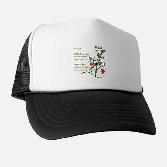 Psalm 27:1 Trucker Hat