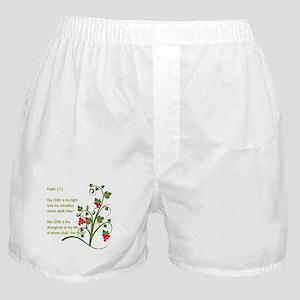 Psalm 27:1 Boxer Shorts