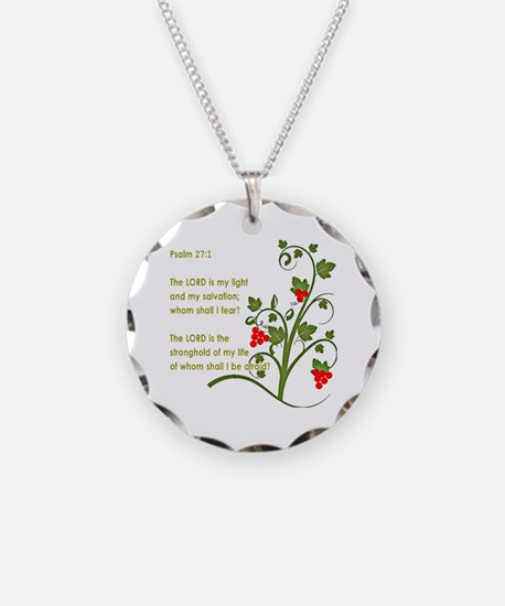 Psalm 27:1 Necklace