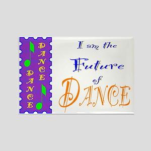 Future of Dance Kids Light Rectangle Magnet