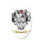 Jepson 20x12 Oval Wall Decal