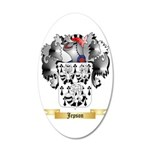 Jepson 35x21 Oval Wall Decal