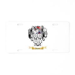 Jepson Aluminum License Plate
