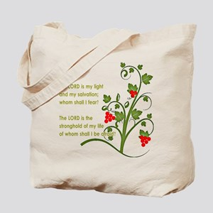 Psalm 27:1 Tote Bag