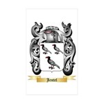 Jentel Sticker (Rectangle 50 pk)
