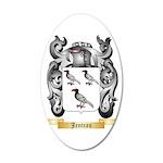 Jenteau 35x21 Oval Wall Decal