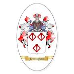 Jenringham Sticker (Oval)