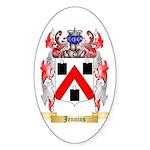 Jennins Sticker (Oval 50 pk)