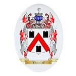 Jennins Ornament (Oval)
