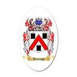 Jennings 20x12 Oval Wall Decal