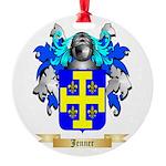 Jenner Round Ornament