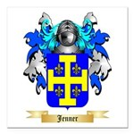 Jenner Square Car Magnet 3