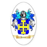 Jenner Sticker (Oval 50 pk)