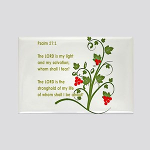 Psalm 27:1 Magnets