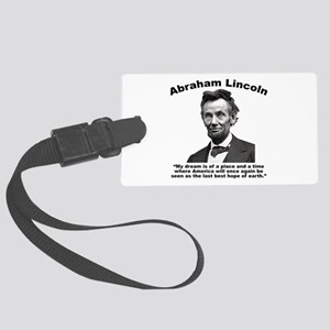 Lincoln: BestHope Large Luggage Tag