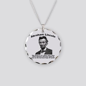 Lincoln: BestHope Necklace Circle Charm