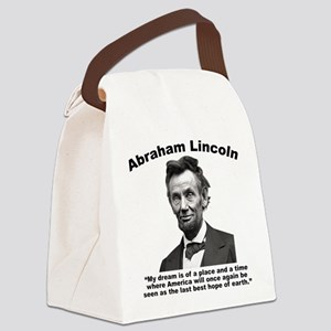 Lincoln: BestHope Canvas Lunch Bag