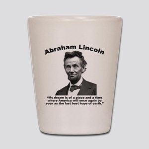 Lincoln: BestHope Shot Glass