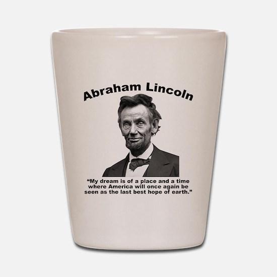 Lincoln: BestHope Shot Glass