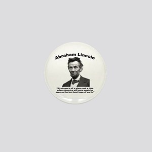 Lincoln: BestHope Mini Button