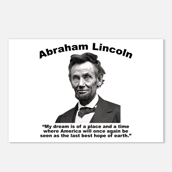 Lincoln: BestHope Postcards (Package of 8)