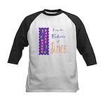 Future of Dance Kids Light Kids Baseball Jersey