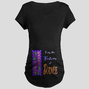 Future of Dance Kids Dark Maternity Dark T-Shirt