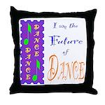 Future of Dance Kids Light Throw Pillow