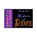 Future of Dance Kids Dark Rectangle Magnet