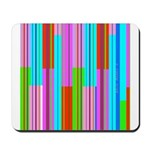 Abstract lines 015 Mousepad