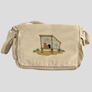 Chicken Coop Messenger Bag