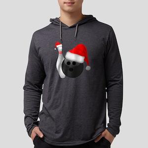 Christmas Bowling Ball And Pin Long Sleeve T-Shirt