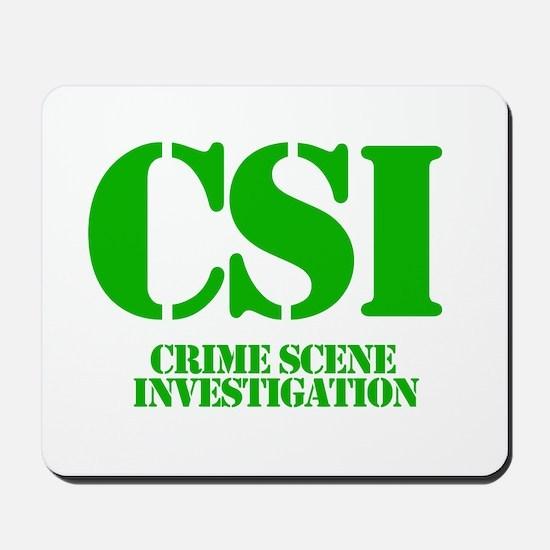 CSI Mousepad