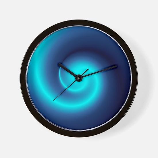 Deep Sea Swirl Wall Clock