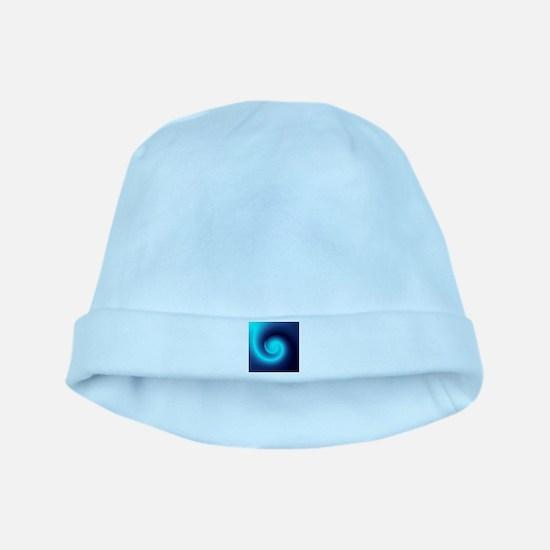 Deep Sea Swirl baby hat