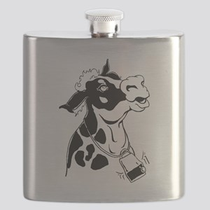 Spotted Cow Flask