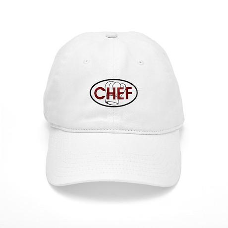 Chef Oval Cap