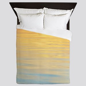 Colorful Lowtide Bay - Pastel 100 inch Queen Duvet