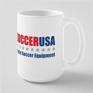 Table Soccer USA Large Mug